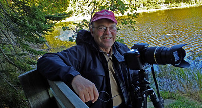 Phil enjoying his latest hobby at Benson Lake in Crosby Manitbu State Park in the fall of 2012.